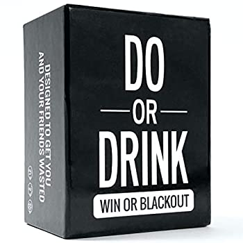 Do or Drink - Party Card Game - for College Camping 21st Birthday Parties - Funny for Men & Women