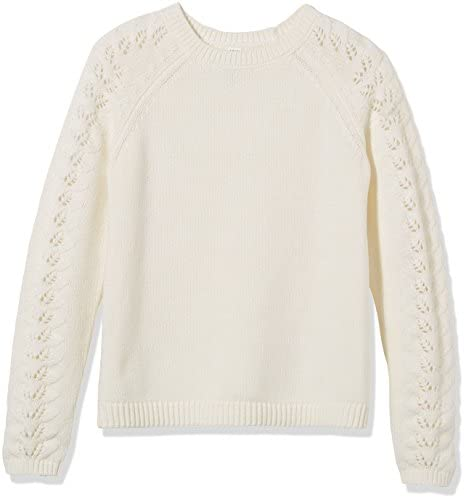 Kid Nation Girls Sweater Long Sleeve Crew Neck Cute Holiday Pullover Fashion Sweatshirt for product image