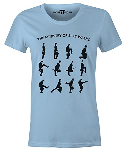 The Ministry of Silly Walks - Damen Monty Python T Shirt