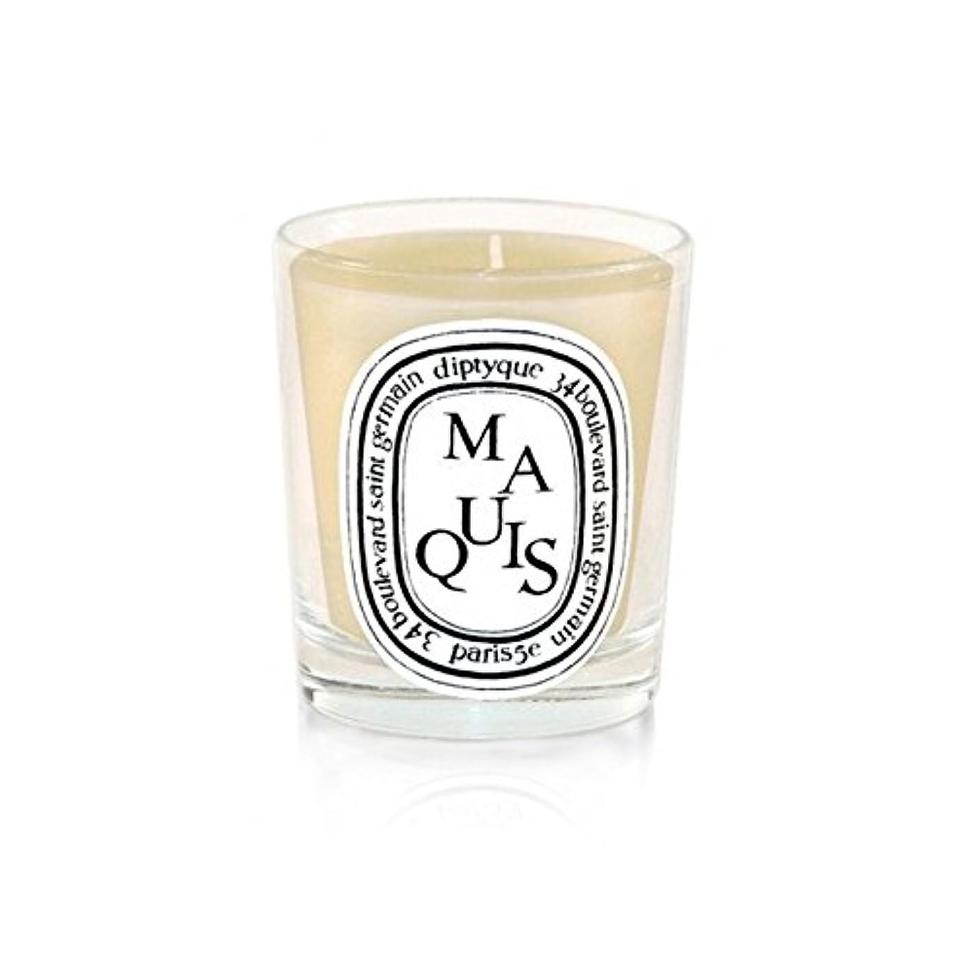 スイス人やがて年金受給者Diptyque Candle Maquis / Maquis 190g (Pack of 2) - Diptyqueキャンドルマキ/マキ190グラム (x2) [並行輸入品]