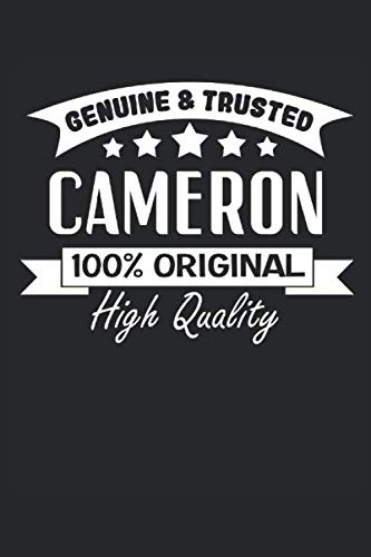 Genuine and Trusted Cameron: 2021 Cameron Planner for Kids (Funny Cam Gifts)