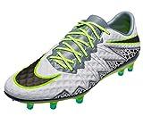 Nike Men's Hypervenom Phinish FG Pure Platinum/Black/Ghost Green Shoes - 11A