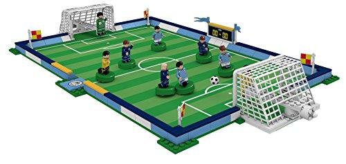 Paul Lamond Nanostars Manchester City FC Pitch - Set di Costruzione in Mattoni 3D