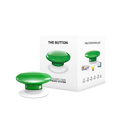 FIBARO FIBEFGPB-101-5 Green The Button, 3,6 V, groen