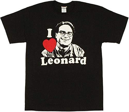 Big Bang Theory Leonard T Shirt Mens Tops Tees Casualstyle Street Wear T Shirt