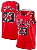 DIMOCHEN Movement Ropa Jerseys de Baloncesto para Hombres, NBA Jordan 23, Fresco, cómodo, Camiseta Uniformes Deportivos Tops(Size:XXL,Color:G1)
