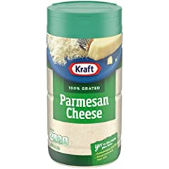 One 8 oz. shaker bottle of Kraft Grated Parmesan Cheese Kraft Grated Parmesan Cheese is made with premium quality milk Delivers sharp, tangy flavor to your favorite recipes Grated for convenience Versatile Italian style Parmesan cheese enhances your ...
