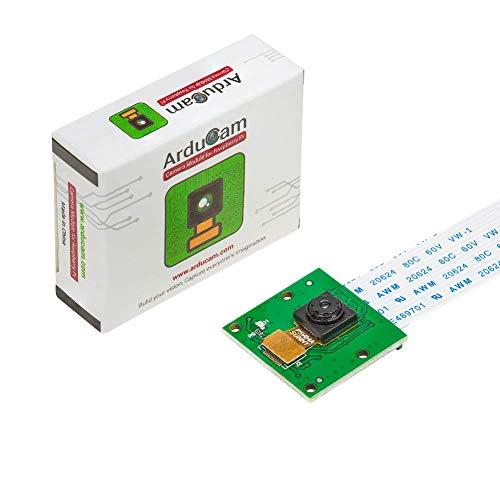 Arducam 5MP Camera for Raspberry Pi, 1080P HD OV5647 Camera Module V1 for Pi 4, Raspberry Pi 3, 3B+, and Other A/B Series