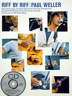 RIFF BY RIFF - arrangiert für Gitarre - mit CD [Noten / Sheetmusic] Komponist: WELLER PAUL