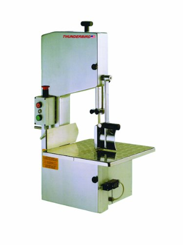 Thunderbird TMS-2200 1 HP Bone/Meat Saw Table Top, 220-volt, Stainless Steel