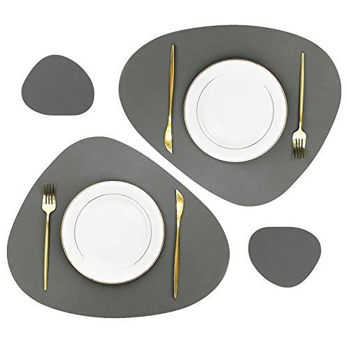 6 und 8 Zoll 5 Tischsets aus Spitze in Verschiedenen Gr/ö/ßen 4 Kombipackung 120 Wei/ße und Goldene Runde Deckchen je 30 St/ück