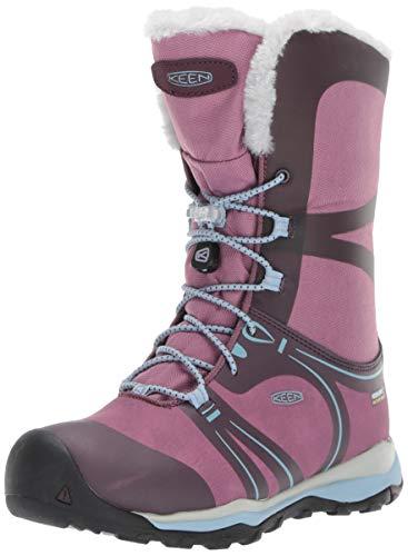KEEN Winetasting/Tuilp, Chaussures de Randonnée Hautes Mixte Enfant, Terradora Winter WP 1019794 Violet, 39 EU