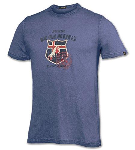 Joma 100454 T-Shirt à Manches Longues, Homme S Bleu Marine (300)