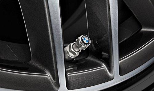 Originale BMW Luftventil-/Staubschutzkappen für PKW-Reifen, 36122447401, 4 Stück