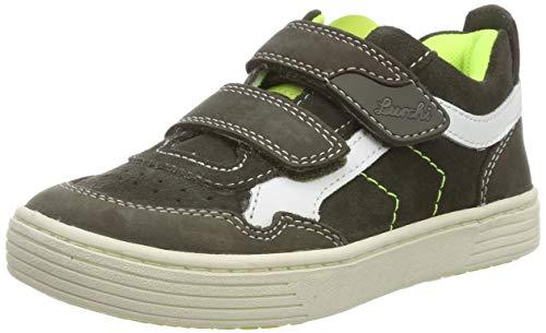 Lurchi Jungen Hanno Sneaker, Weiß (Dk Olive 46), 30 EU