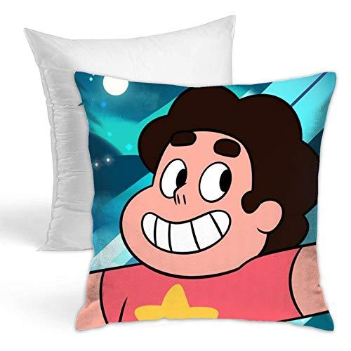 Wyxllmg1170109 Steven Universe (5) Cool Comics New Decoration Square Pillowcase Cushion Fixed Suitable for Sofa Bedroom Car Home Decoration45.72 X 45.72 cm