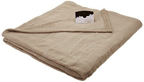 Biddeford Micro Plush Electric Heated Blanket with Digital...