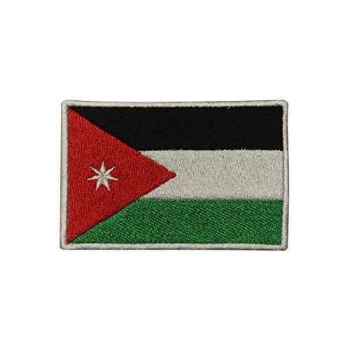 Aufnäher mit Flagge von Jordanien, zum Aufbügeln