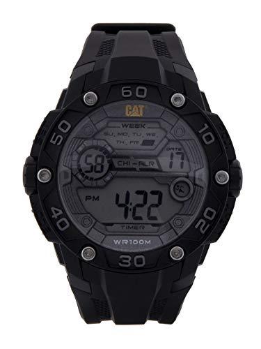 CAT Men's Watch Digital Black Case RB 1D.167.21.241