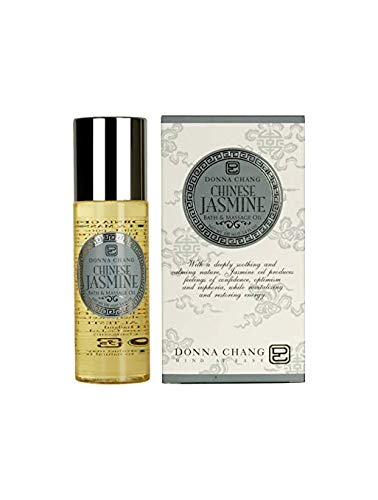 Best Review Of DONNA CHANG Chinese Jasmine Bath & Massage Oil 3.40 fl.oz. (4 Pack)