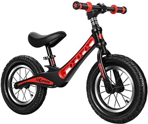 JZTOL Bicicleta De Equilibrio para Niños, Bicicleta para Niños 2 Años - 6 Años, Bicicleta para Niños Sin Pedales con Marco De Acero, Silla De Montar Ajustable De Altura (Color : B)
