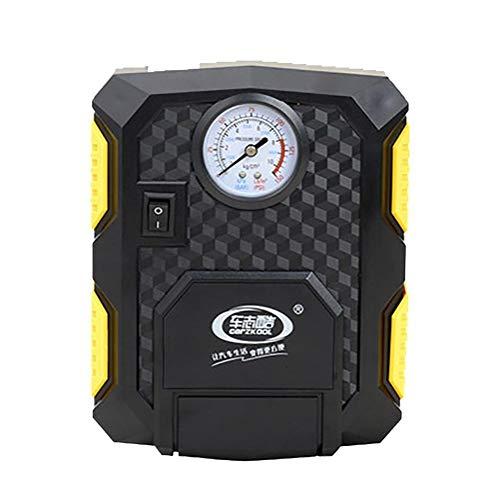 Zigarette 12V Auto-Feuerzeug-Stecker Kleine tragbare Auto/Fahrrad-Luftkompressor und Gummireifen, eingebaute LED-Licht Compact Inflatable-Platten-Adapter