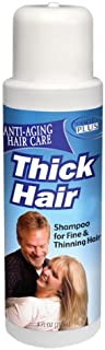 Miracle Plus Thick Hair Shampoo for Thinning Hair for Men and Women 8oz.
