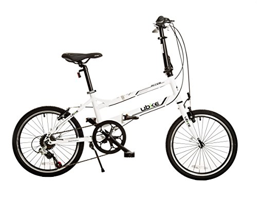 Bike USA Ubike Arrow Bicicleta plegable de 7 velocidades con ruedas de 20 pulgadas, 25,4 cm/talla ún