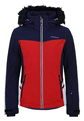 Icepeak Florence - Damen Skijacke in rot, Gr. 38