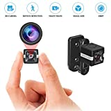 Spy Camera Wireless Mini Portable Hidden Cameras 1080P HD Security Camera 140 Degree Wide Angle Lens, Motion Detection Lnfrared Night Vision Outdoor/Indoor,(2020 Upgrade) Maximum Support 32G