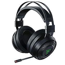 cheap Razer Nari 7.1 Surround Wireless Gaming Headset: THX Audio – Automatic Headband and Swivel Adjustment…