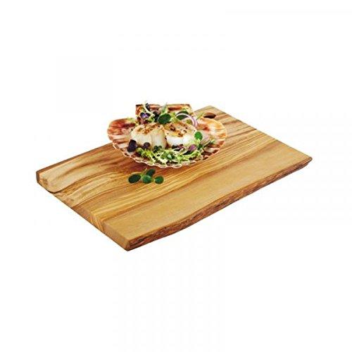 PADERNO 41320 – 25 rectangulaire Bois Bois Planche à découper de Cuisine – Planche à découper rectangulaire, Bois, Bois, monótono, 250 mm, 170 mm