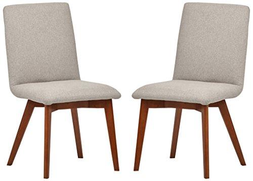 Marchio Amazon -Rivet, sedie da sala da pranzo modello Ricky, stile mid-century, 2 pezzi, altezza...