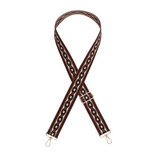 TOFBS Tracolla Regolabile Ampia Stile Tracolla Cintura Tracolle Nylon Tracolla per Borse Crossbody Borsa Donna Accessori Fai da Te (Marrone)