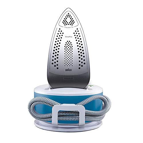 Braun IS2043BL CareStyle Compact Ferro da Stiro con Caldaia, Piastra in Eloxal, Colpo Vapore 300 g/min, Serbatoio 1.3 Litri, 2200 W, Plastica, Bianco/Blu