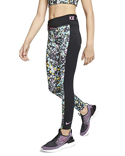 Nike Kinder Tights One, Black/Magic Flamingo, M, CJ7602