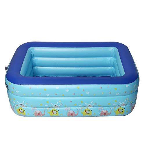 DFSDG Piscina al Aire Libre portátil al Aire Libre Piscina Inflable Niños Bañera Bañera Piscina Baby Ocean Ball Pool Toys para niños (Size : 130 * 85 * 45cm)