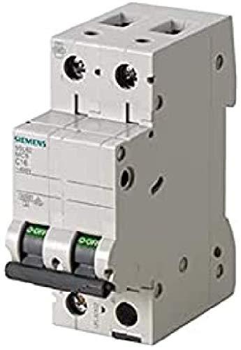 Siemens 5sl6 - Automático magnetotérmico 400v 6ka 2 polos c 25a