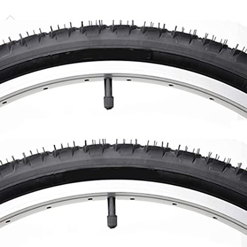 NeumáTicos para Bicicleta 24/26, Llanta para Bicicleta,Unisex Adulto, Negro, Cubiertas MTB,26 * 1.95