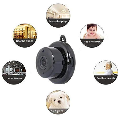 WANGOFUN Remote Surveillance Monitor, Draadloze 1080P Beveiligingscamera, WiFi Home Surveillance IP Camera met Twee-weg Audio en Nachtzicht voor Baby Oudere Huisdier