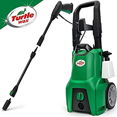 Turtle Wax TW120 Pressure Washer 120bar High-Pressure Washer 1600w from Turtle Wax