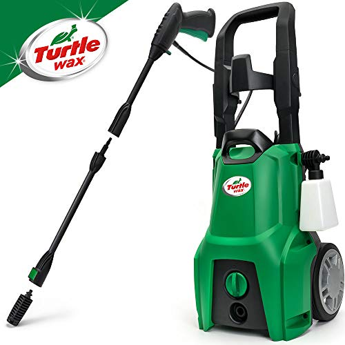 Turtle Wax TW120 Pressure Washer 120bar High-Pressure Washer 1600w