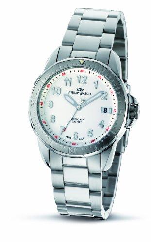 Philip Damen-Armbanduhr Prestige Cruiser Analog Edelstahl R8253194045