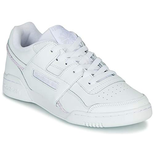 Reebok Classic Workout Lo Plus Zapatillas Moda Mujeres Blanco - 42 - Zapatillas Bajas
