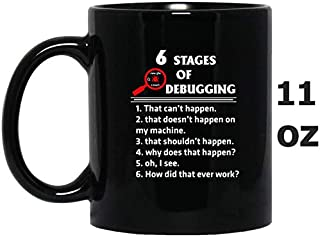 Programmer – 6 stages of debugging awesome t – shi oz Mug