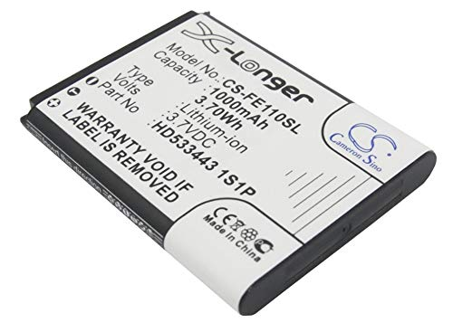 Buy Bargain Replacement Battery Part No.HD533443 1S1P for Fiio E11,1000mAh/3.70Wh,Portable Microphon...
