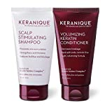 Keranique Keratin Shampoo and Conditioner Set for Fine Hair, Thinning Volumizing, 4.5 Fl Oz (Pack of 2)