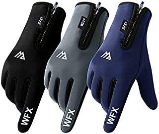 WESTWOOD FOX WFX Winter Gloves Touch Screen Anti Slip Warm Gloves Windproof Thermal Sports Cycling Gloves for Men & Women ...