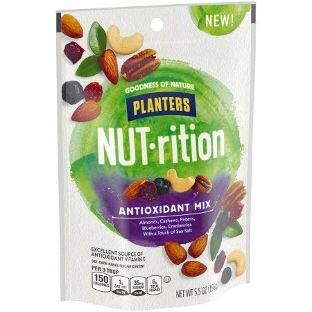 Planters Nut-rition Antioxidant Deluxe Nut Mix (Pack of 4)