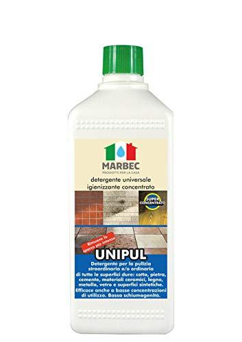 Marbec - UNIPUL 1LT | Detergente Universale igienizzante concentrato per Tutti i Tipi di...